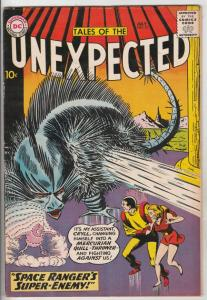 Tales of the Unexpected #51 (Jul-60) FN/VF Mid-High-Grade Space Ranger, Cyrl