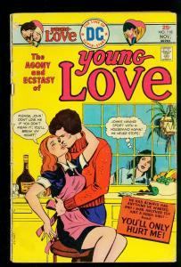 Young Love #118 1975- DC Romance comics- Maid Hanky Panky cover- G