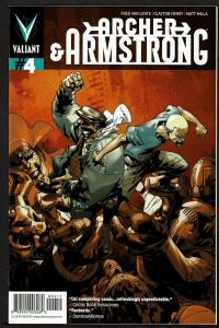 Archer & Armstrong #4 (2nd series)  9.4 NM