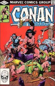 Marvel CONAN THE BARBARIAN (1970 Series) #137 VF