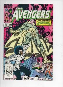 AVENGERS #238, VF+, Vision, Captain Marvel, 1963 1983, more Marvel in store