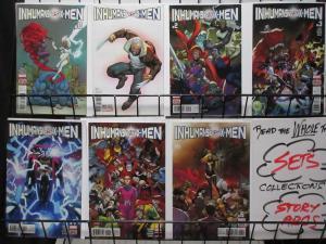 INHUMANS vs X-MEN -IvX (Marvel, 2016) #0-6 VF-NM COMPLETE! Charles Soule