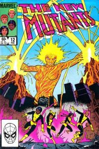 New Mutants (1983 series) #12, VF+ (Stock photo)