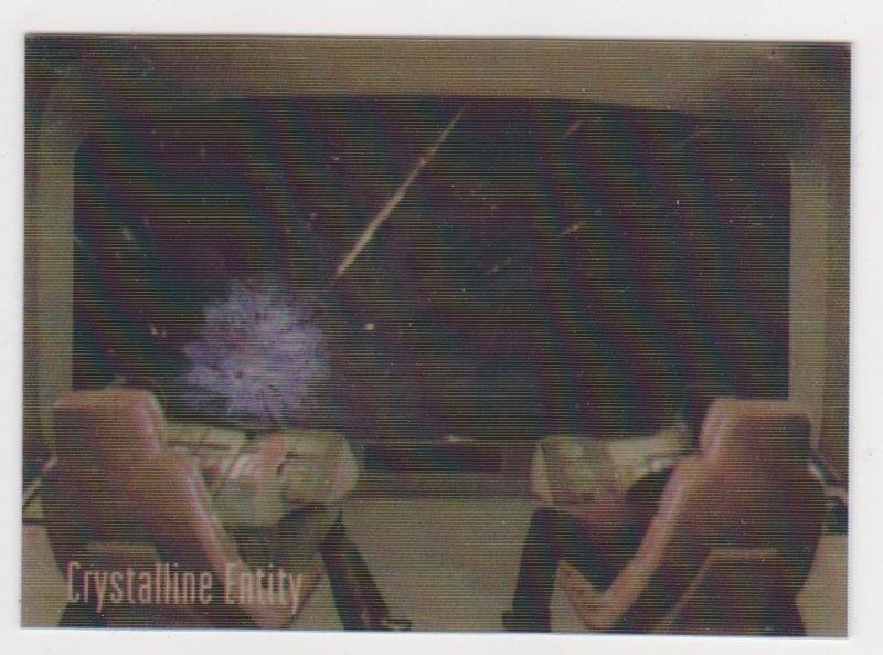 1996 Star Trek 30 Years Motion Card #M2 Crystalline Entity
