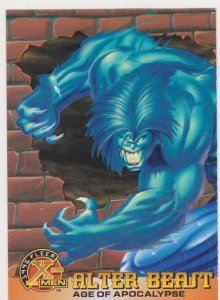 1996 Fleer X-Men #39 Alter Beast