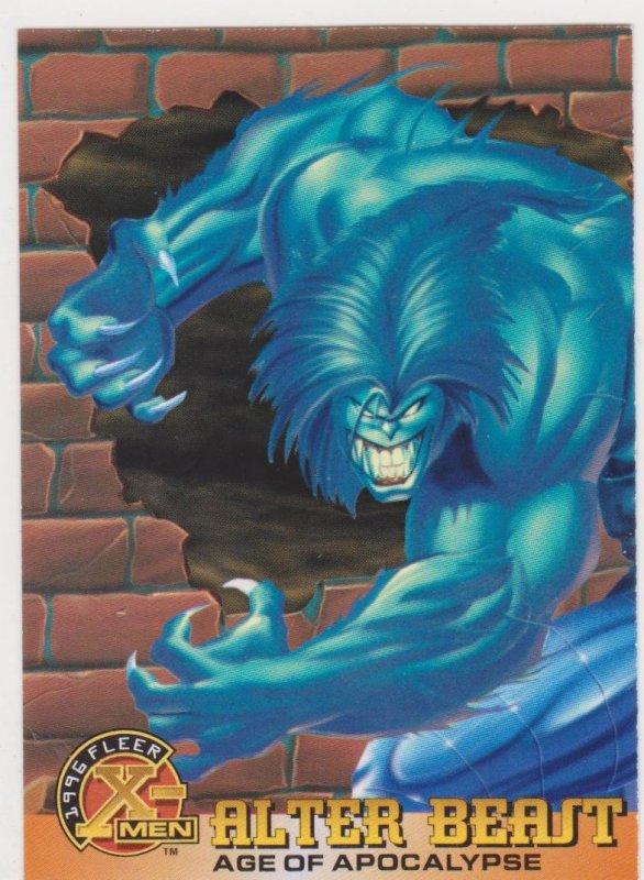 1996 Fleer X-Men #39 Alter Beast