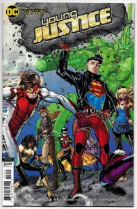 Young Justice #10 Bradshaw Variant Cvr (DC, 2020) NM
