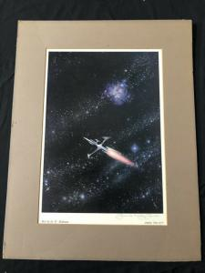 Hero Print Signed by Frank Kelly Freas- Analong June 1972
