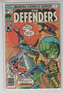 DEFENDERS (1972 MARVEL) #39 VG/FN A96572