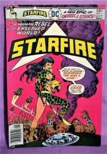 David Michelinie STARFIRE #1 Mike Vosburg Bronze Age DC (DC, 1976)!
