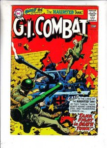 G.I. Combat # 113 Strict FN/VF Mid-High-Grade Haunted Tank Artist Joe Kubert