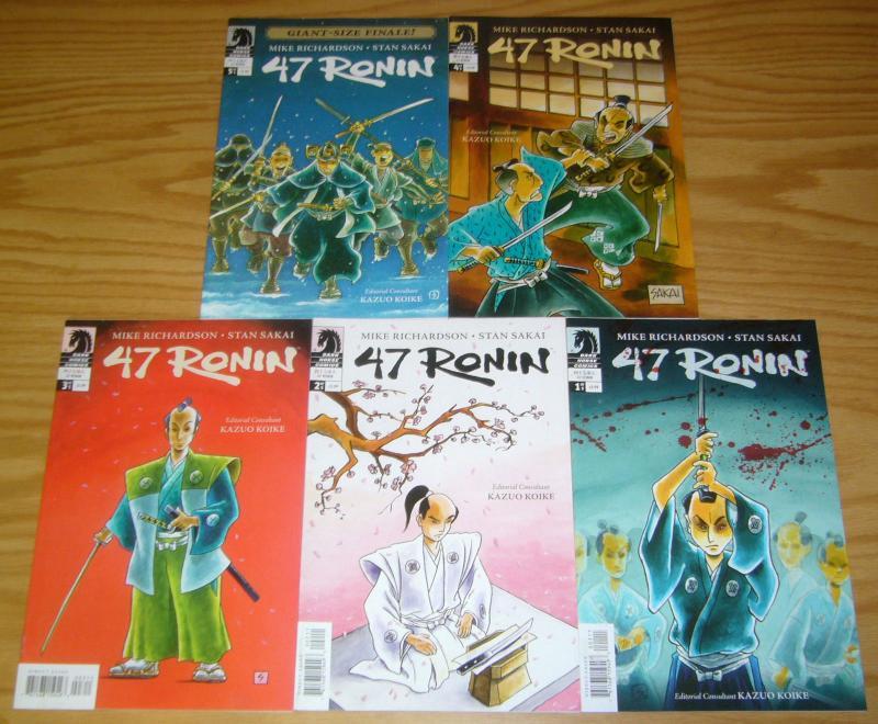 47 Ronin #1-5 VF/NM complete series - stan sakai - dark