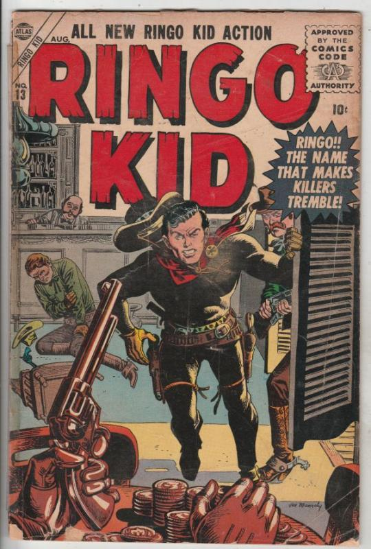 Ringo Kid Golden-Age #13 (Aug-56) GD Affordable-Grade Ringo Kid