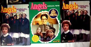 Angels - 3 British Annuals UK HB VF\+ Based on BBC TV series 1978-1979 nurses