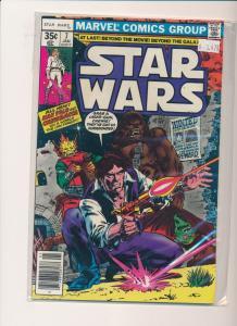 Marvel Comics STAR WARS Jan #7 Han Solo and Chewbacca   F/VF (PF304)