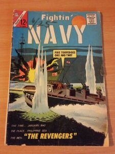Fightin' Navy #117 ~ GOOD - VERY GOOD VG ~ 1964 Charlton Comics