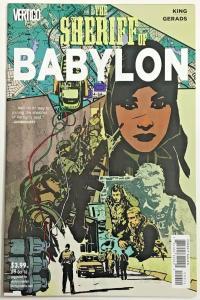 SHERIFF OF BABYLON#9 VF/NM 2016 TOM KING DC/VERTIGO COMICS