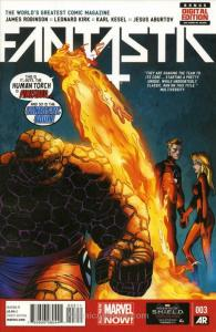 Fantastic Four (5th Series) #3 FN; Marvel | save on shipping - details inside
