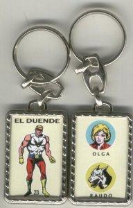 Llaveros comic español: El Duende