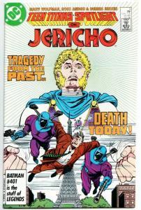 Teen Titans Spotlight #3 Jericho (DC, 1986) FN/VF