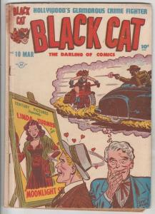Black Cat #10 (Mar-48) VG+ Affordable-Grade Black Cat
