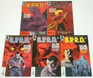 BPRD: Killing Ground #1-5 VF/NM complete series MIKE MIGNOLA B.P.R.D 2 3 4 set