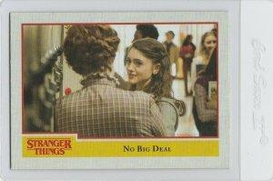 Stranger Things No Big Deal 6 Topps Netflix 2018 Season One trading card
