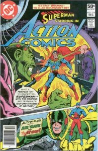 Action Comics #514 (Newsstand) VG; DC | low grade comic - save on shipping - det