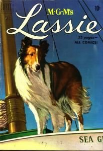 LASSIE #2 M-G-M MOVIE COLLIE EGYPTIAN COLLECTION 1950 VG