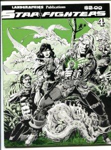 Starfighters #4 1982- Ken Landgraff- comic book VF