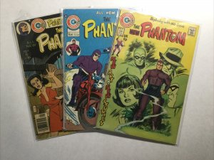 Phantom 60 64 72 Lot Run Set Fine- Fn- 5.5 Charlton Comics Group