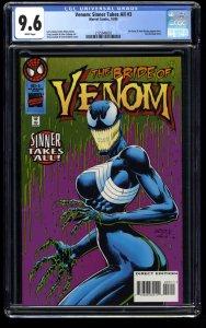 Venom: Sinner Takes All #3 CGC NM+ 9.6 White Pages