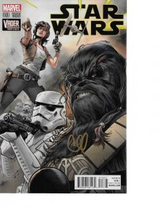 Star Wars #13 CLAY MANN CONNECTING VARIANT signed Clay Mann NM