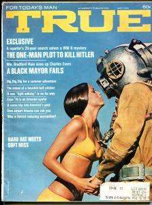 True 5/1970-Fawcett-Kill Hitler Plot-airport thieves-pulp thrills-VG
