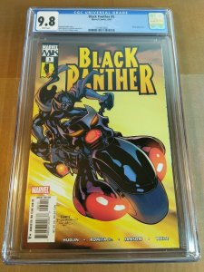 Black Panther #5 CGC Universal Grade 9.8 NM/MT (Marvel 2005) white pages