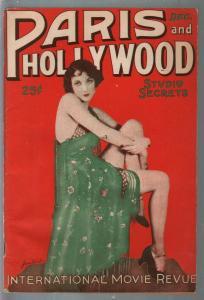 Paris and Hollywood 12/1926-Valentino-Laura La Plante-pulp fiction-FR
