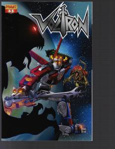 Voltron #3 (Dynamite, 2011)