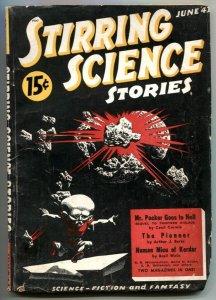 Stirring Science Stories Pulp #3 June 1941- Human Mice of Kordar