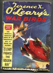 Terence X. O'Leary's War Birds #1 March 1935-Rare Sci-Fi Aviation pulp magazine