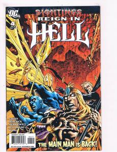 Reign In Hell # 4 Of 8 NM 1st Print 2008 Series DC Comic Book Batman Flash S61
