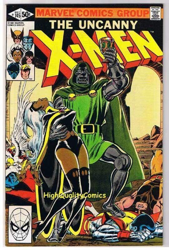 X-MEN #145, VF/NM, Uncanny, Dr Doom, Storm, Wolverine, 1963, more in store
