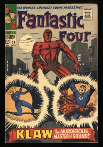 Fantastic Four #56 VG/FN 5.0