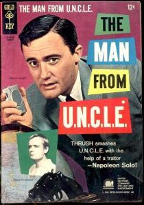 MAN FROM UNCLE #4-ORIGINAL SERIES 1966 ROBERT VAUGHN TV VF