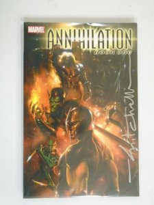 Annihilation TPB #1 SC Signed with CoA NM (2007 1st Printing)