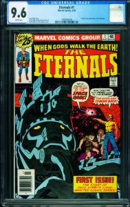 THE ETERNALS #1 First appearance! CGC 9.6 MARVEL 1976 1998206009