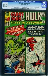 TALES TO ASTONISH #62 CGC 8.0- First LEADER-1964-MARVEL 0264692001