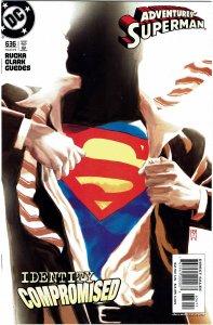 Adventures of Superman #636 NM+