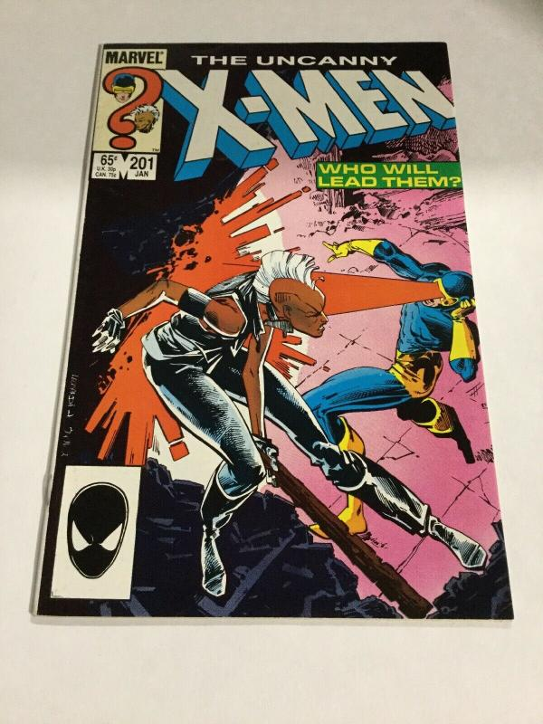 Uncanny X-Men 201 Nm- Near Mint- First Appearance Of Nathan Summers Marvel
