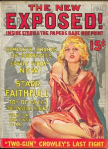 Exposed 1930's-Al Capone-Legs Diamond-bondage-fleshpots-scandal-exploitation-VG