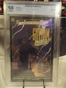 Batman: Gotham by Gaslight CBCS 9.8 - NM/MINT - WHITE PAGES - DC, 1989
